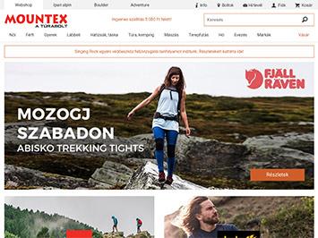 Mountex webshop