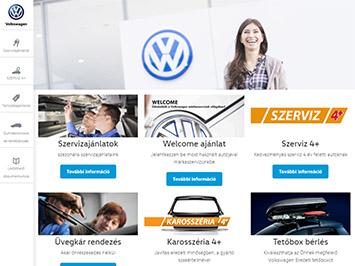 Volkswagen szervizek honlap